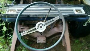 1961 Chevrolet Bel Air Bubbletop Steering Wheel And Column 2 Speed