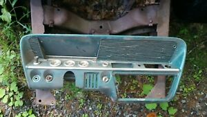 1961 Chevrolet Bel Air Bubbletop Dash With Speedometer And Other Gauges
