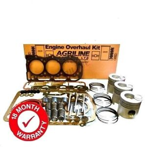 Engine Overhaul Kit For Ford 4000 4600 4610 Without Liners Includes Valve Train