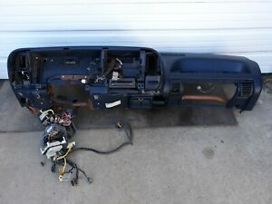 1995 1998 Chevy Gmc Truck Tahoe Suburban Yukon Silverado Dash Core Assembly Blue