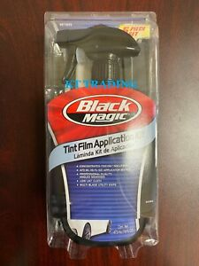 Black Magic Tint Film Application Kit Tint On Solution Angled Squeegee Knife