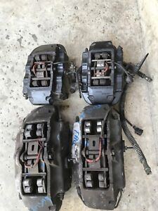 Oem 2004 10 Porsche Cayenne Vw Touareg Front Rear Set 18z Brembo Brake Calipers