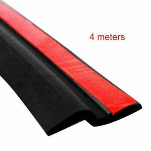 Universal 4m 160 Z shape Car Window Door Rubber Seal Strip Hollow Weatherstrip