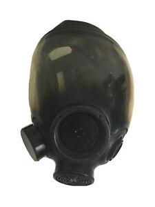 Msa 7 1293 3 Large Full Face Gas Mask Respirator Government Surplus