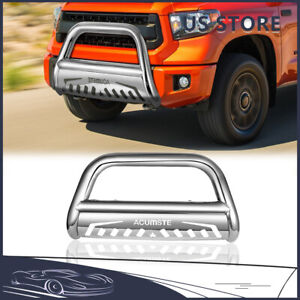 3 Steel Bull Bar Brush Push Bumper Grill Grille Guard For Toyota Sequoia Tundra