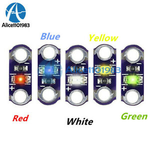 5 25pcs 3 5v Smd Led Diy Module Yellow green white blue red Light Kit