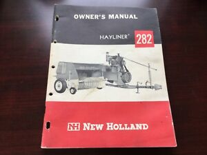 New Holland 282 Hay Baler Operator s Owner s Manual