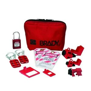 Brady Electricians Personal Lockout Kit 1881775