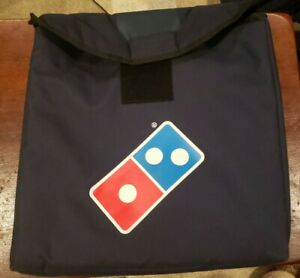 Lot Of 4 Dominos Pizza Delivery Bags Read Description Extra 5th Bag Included