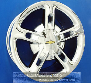 Chevy Ssr 19x8 20x10 Inch Chrome Wheel Exchange Chevrolet Ss R 19 20 Rim Trade