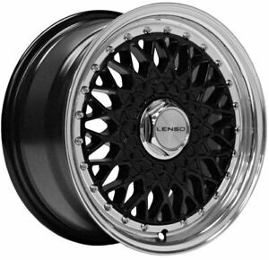 17 Black Bsx Alloy Wheels Fits Honda Airwave Beat Civic Crx Insight 4x100