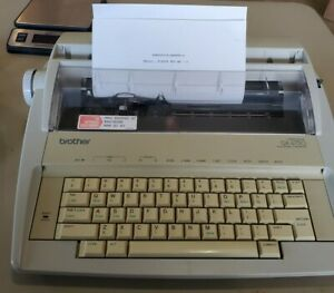 Brother Portable Electronic Typewriter Correct Daisy Wheel 1030 Ribbon Gx 6750