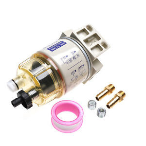 Ifjf Diesel Fuel Filter Water Separator For R12t Marine Spin On Housing 120at