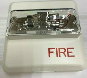 Siemens Zr mc w Fire Alarm Strobe 500 636170 White