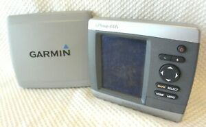GARMIN GPSMAP 441S CHART PLOTTER FISH FINDER GPS NAVIGATION UNIT w/ SUN COVER