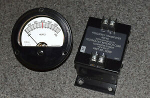 Trc 400hz Military Generator Frequency Transducer 88 21135 Ideal 36 1935 Meter