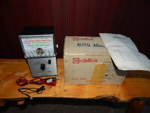 Vintage Medallion Solid State Auto Analyzer Model 62 848 Original Box Untested