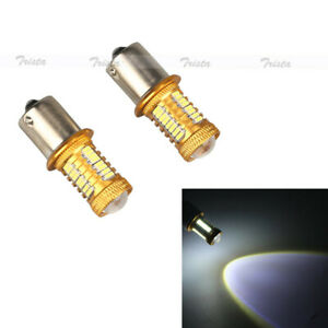 10 32 Smd 5w Cree Led Bulbs White Car Reverse Light 1156 7506 P21w Backup 12v