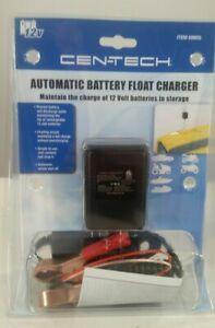Cen Tech Automatic Battery Float Charger Brand New