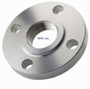 Threaded Flange 2 150 Class Raised Face 316 Stainless Steel Ansi