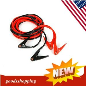 Heavy Duty Jumper Booster Cables Commercial Grade Battery 2 Gauge 20ft 800 Amp