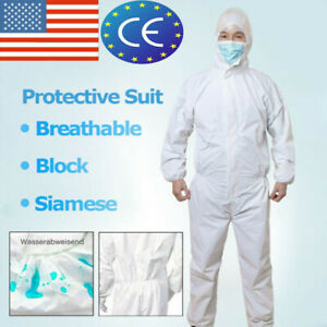 Protective Suit Coveralls Clothing Safety Overalls Suit Full Protection One off