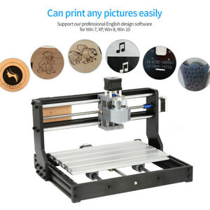 Cnc 3018 Laser Engraving Router Carving Pcb Milling Cutting Diy Cnc Machine
