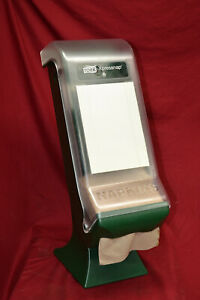 Tork Xpressnap Classic Stand Napkin Dispenser 45xps Clear green With Manual