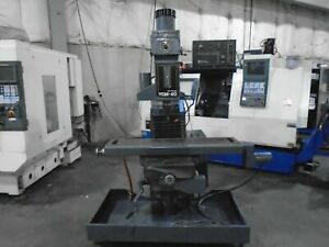 Supermax Ycm 40 Cnc Vertical Mill With Centroid Control
