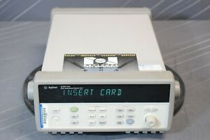 Keysight agilent 34970a Data Acquisition Logger Switch Unit calibrated