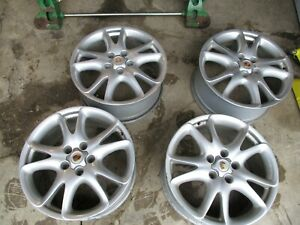Porsche Cayenne Rims Q7 Touareg 9 X 20 Set Of 4 Scratched