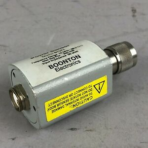 Boonton 51071 Power Sensor 10 Mhz 26 5 Ghz 50 Ohms 300 Mw