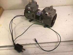 1 Thomas Air Pump 2107cef18tfel A Compressor Vacuum Working
