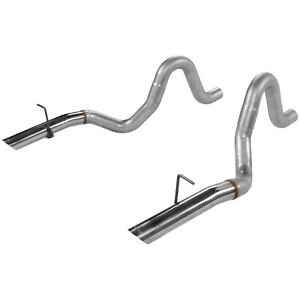 Flowmaster 15820 Tailpipe Set Fits 86 93 Mustang
