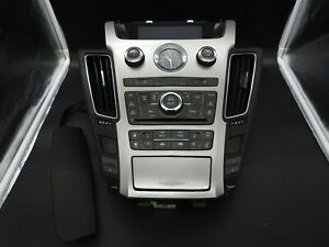 Oem 2008 2013 Cadillac Cts Center Dash Bezel Clock Vents Climate Control