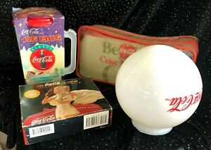Coca Cola Collectables (total of 4 items)