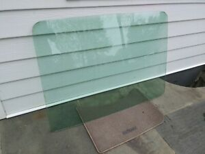 1969 Mustang Fastback Tinted Rear Glass Oem Original 1970 69 70 Carlite