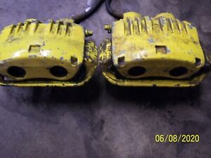 2003 04 Ford 2004 Mustang Mach 1 Cobra Front Brake Calipers And Brackets