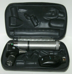 Welch Allyn Otoscope Ophthalmoscope Kit Tested 97250 71050 c 3 5v 11710