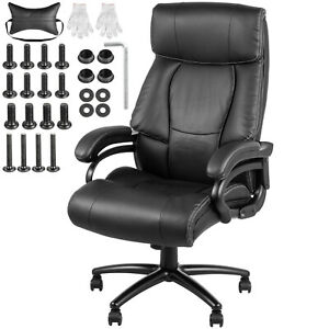 Office Chair Executive Computer Desk Chair Gaming Ergonomic High Back Swivel