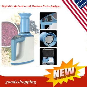 Usa Grain Moisture Meter Digital Fast Seed Cereal Analyser Highly Accurate