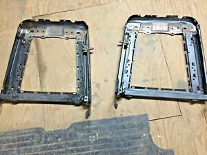 1968 Mustang Coupe Fastback Front Bucket Seat Back Frames Pr