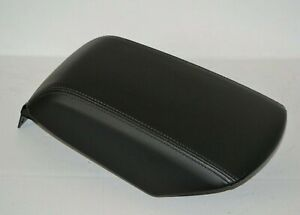 2011 2018 Ford Explorer Center Console Armrest Lid Arm Rest Black Leather Oem