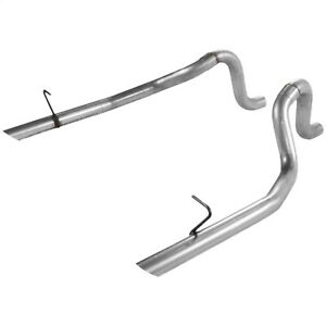 Flowmaster 15804 Prebent 2 5 Tailpipe Set Fits 86 93 Mustang Lx 5 0l