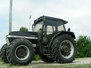 Case Ih 5140 Farm Tractor 4x4 Cummins 115 Hp Unique Black
