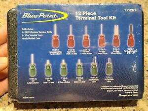 New Sealed Blue Point 12 Piece Terminal Tool Kit Tt12kt