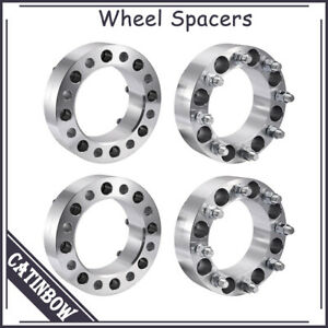 4pcs 2 8 Lug Wheel Spacers Adapters 8x6 5 14x1 5 For Chevy Gmc Ram 2500 3500