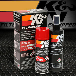 K N 99 5000 Air Filter Cleaning Filtration Pleat Cleaner Recharger Oil Spray Kit