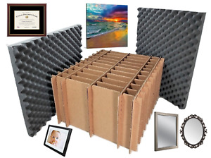 Universal Picture Frame Painting Mirror Shipping Storage Box Container Kit