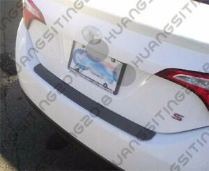 Rear Bumper Top Surface Cover Protector Fits 2014 To 2018 14 18 Toyota Corolla
